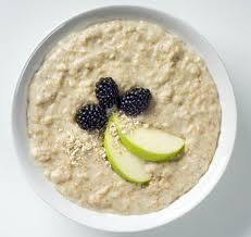 Photo of a bowl of porridge