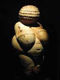 Ancient statue of a woman