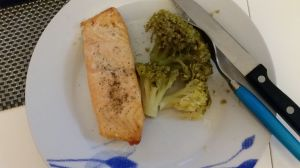 Diner: Salmon and Broccoli